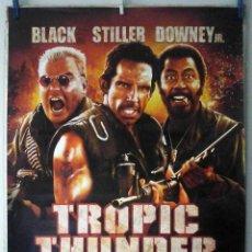 Cine: ORIGINALES DE CINE: TROPIC THUNDER. UNA GUERRA MUY PERRA (BEN STILLER, ROBERT DOWNEY JR, JACK BLACK). Lote 194218960