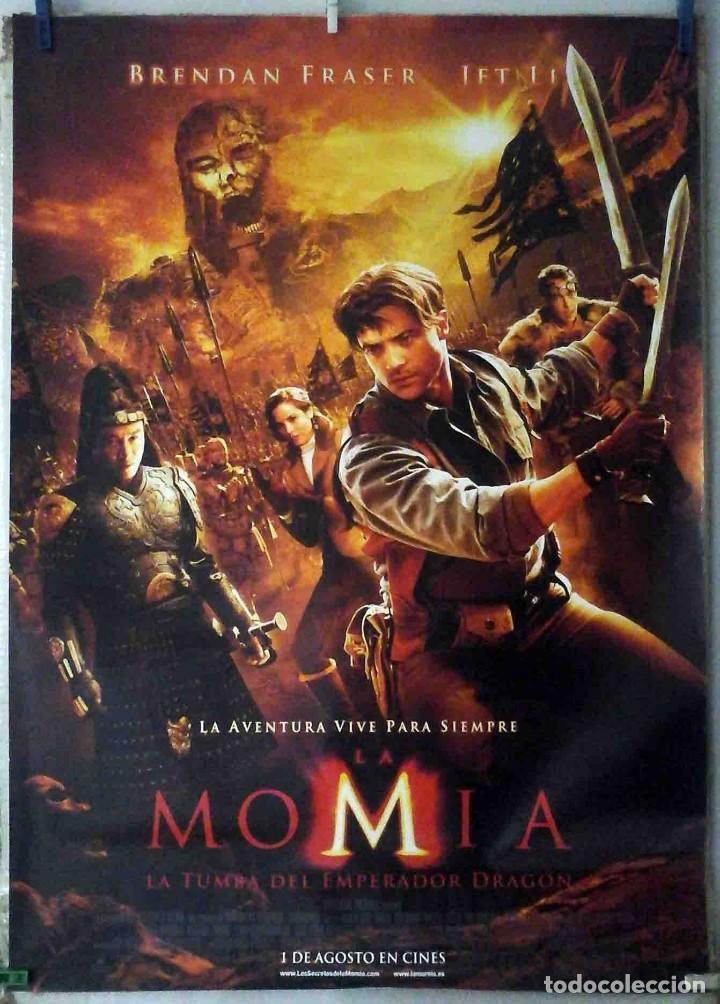 ORIGINALES DE CINE: LA MOMIA 3. LA TUMBA DEL EMPERADOR DRAGÓN (BRENDAN FRASER, JET LI) 70X100 (Cine - Posters y Carteles - Aventura)