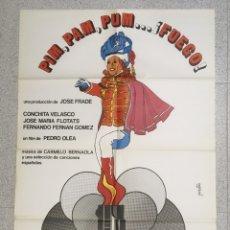 Cine: PIM PAM PUM FUEGO. Lote 194224067