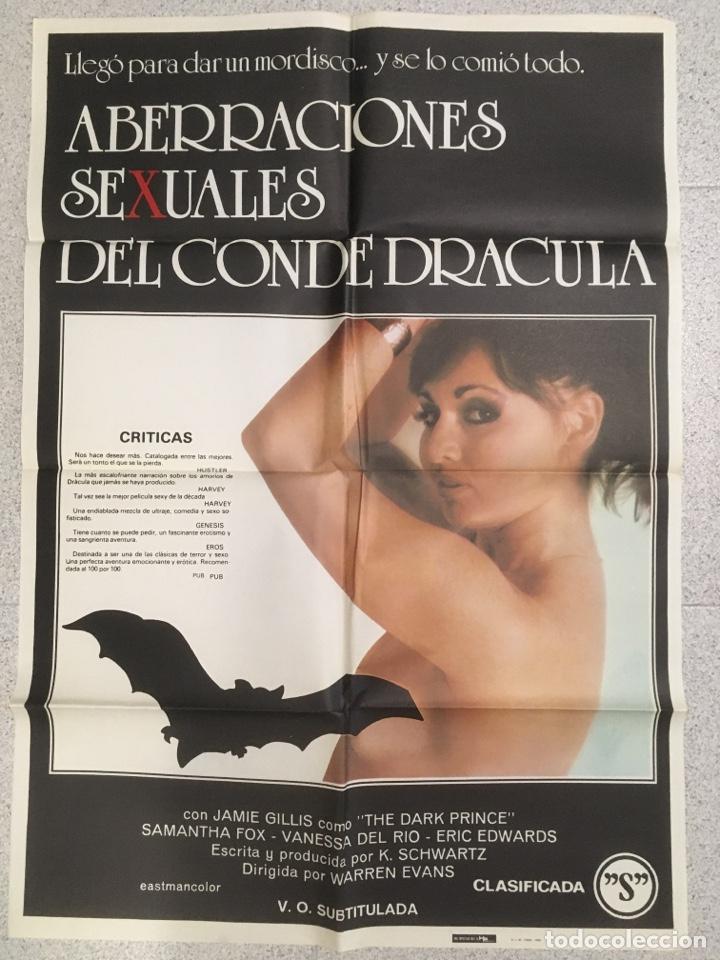 ABERRACIONES SEXUALES DEL CONDE DRACULA (Cine - Posters y Carteles - Aventura)