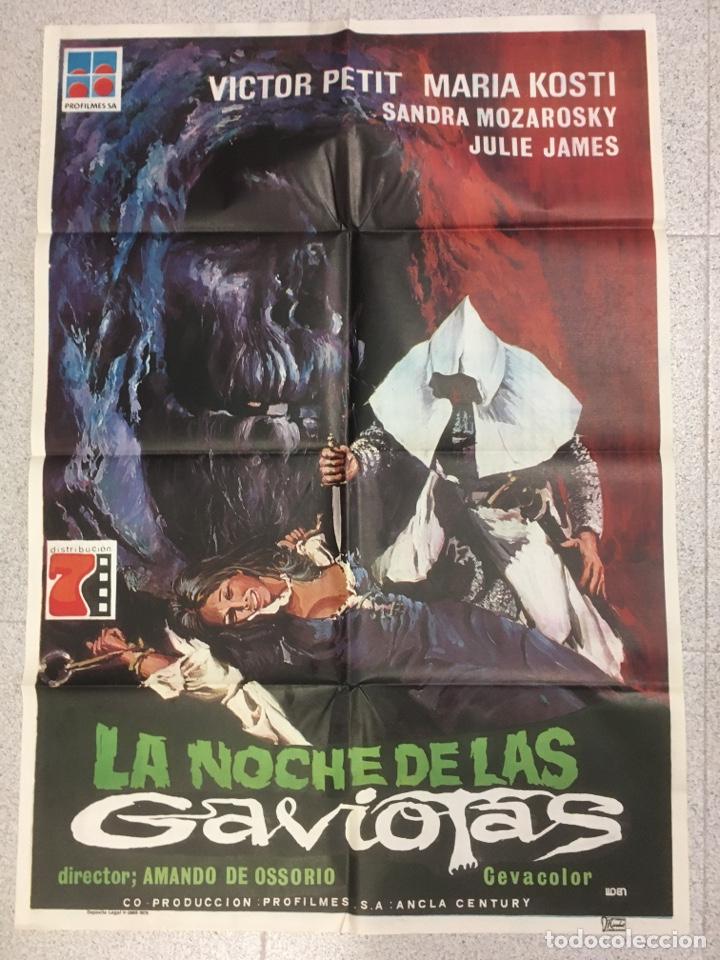 LA NOCHE DE LAS GAVIOTAS (Cine - Posters y Carteles - Terror)