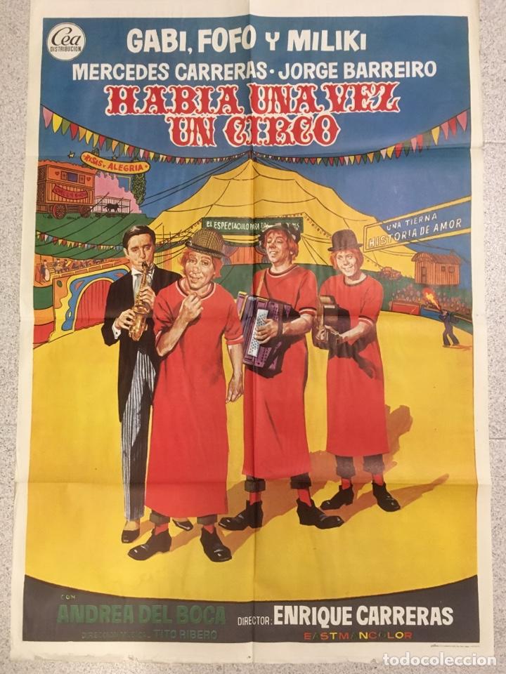 HABIA UNA VEZ UN CIRCO (Cine - Posters y Carteles - Clasico Español)