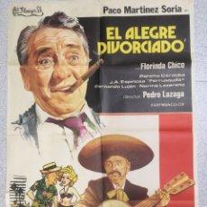 Cine: EL ALEGRE DIVORCIADO. Lote 194228351