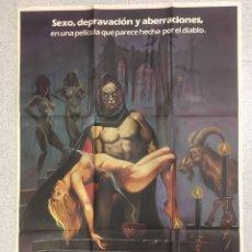 Cine: LOS RITOS SEXUALES DEL DIABLO. Lote 194229450