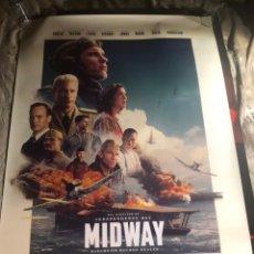Cine: MIDWAY RARO POSTER CINE 70X100CM. Lote 194268006