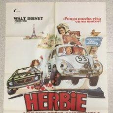 Cine: HERBIE EN EL GRAN PRIX DE MONTERCARLO. Lote 194334700