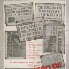 Cine: EL PROCESO DE BURGOS. Lote 194338103