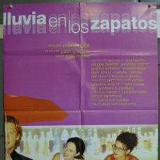 Cine: CDO 218 LLUVIA EN LOS ZAPATOS PENELOPE CRUZ MARIA RIPOLL POSTER ORIGINAL 70X100 ESTRENO. Lote 194503577