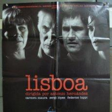 Cine: CDO 219 LISBOA CARMEN MAURA SERGI LOPEZ POSTER ORIGINAL 70X100 ESTRENO. Lote 194504040