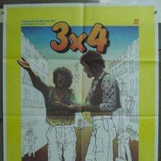 Cine: CDO 224 3X4 CARLOS VELAT VICKY PEÑA SANTI ARISA PAU RIBA SISA IBORRA POSTER ORIGINAL 70X100 ESTRENO. Lote 194508172