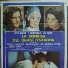 Cine: CDO 227 LA SONRISA DEL GRAN TENTADOR GLENDA JACSON LISA HARROW POSTER ORIGINAL 70X100 ESTRENO. Lote 194509957