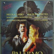 Cine: CDO 247 PALERMO O WOLFSBURG POSTER ORIGINAL 60X84 ALEMAN. Lote 194583258