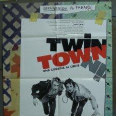 Cine: CDO 259 TWIN TOWN KEVIN ALLEN POSTER ORIGINAL 70X100 ESTRENO . Lote 194600540
