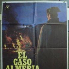 Cine: CDO 261 EL CASO ALMERIA PEDRO COSTA AGUSTIN GONZALEZ GUARDIA CIVIL POSTER ORIGINAL 70X100 ESTRENO. Lote 194601043
