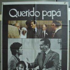 Cine: CDO 274 QUERIDO PAPA DINO RISI VITTORIO GASSMAN POSTER ORIGINAL 70X100 ESTRENO. Lote 194606810