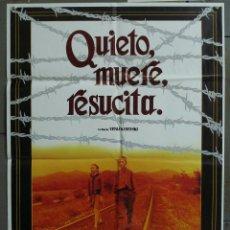 Cine: CDO 277 QUIETO MUERE RESUCITA VITALI KANEVSKY POSTER ORIGINAL 70X100 ESTRENO. Lote 194608127