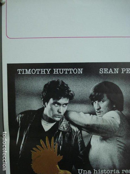Cine: CDO 281 EL JUEGO DEL HALCON SEAN PENN TIMOTHY HUTTON POSTER ORIGINAL 30X60 ESTRENO - Foto 4 - 194614841