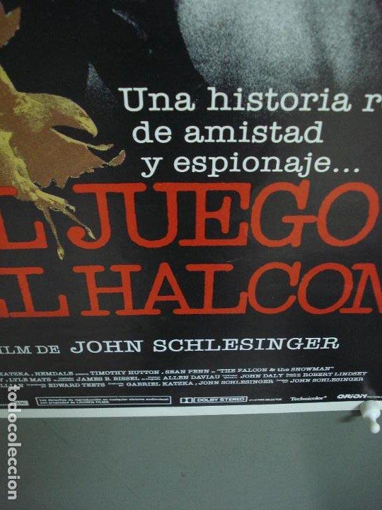Cine: CDO 281 EL JUEGO DEL HALCON SEAN PENN TIMOTHY HUTTON POSTER ORIGINAL 30X60 ESTRENO - Foto 5 - 194614841