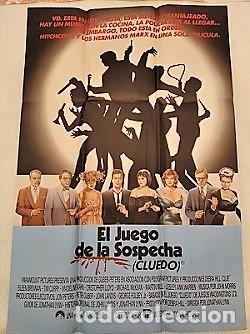 EL JUEGO DE LA SOSPECHA. CARTEL. DIRIGIDA POR JONATHAN LYNN CON EILEEN BRENNAN, TIM CURRY (Cine - Posters y Carteles - Clasico Español)