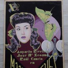 Cine: CARTEL ORIGINAL MARIA DE LOS REYES-1947. Lote 194621628
