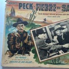 Cine: EL PISTOLERO (FIEBRE DE SANGRE) GREGORY PECK JEAN PARKER LOBBY CARD MEXICO. Lote 194635925