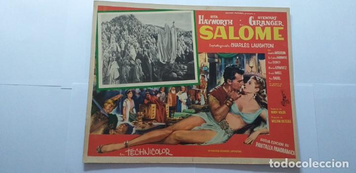 SALOME RITA HAYWORTH STEWART GRANGER LOBBY CARD MEXICO (Cine - Posters y Carteles - Aventura)