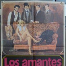 Cine: CDO 291 LOS AMANTES DE LULU WALERIAN BOROWCZYK SCIOTTI POSTER ORIGINAL 70X100 ESTRENO. Lote 194711672