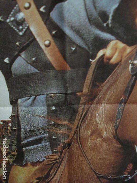 Cine: CDO 293 ESPARTACO STANLEY KUBRICK KIRK DOUGLAS POSTER ORIGINAL 70X100 ESPAÑOL R-91 - Foto 3 - 194718085
