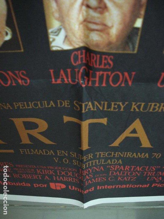 Cine: CDO 293 ESPARTACO STANLEY KUBRICK KIRK DOUGLAS POSTER ORIGINAL 70X100 ESPAÑOL R-91 - Foto 4 - 194718085
