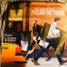 Cine: EL ARTE DE PASAR DE TODO CINE POSTER CARTEL 70X100CM. Lote 194718387
