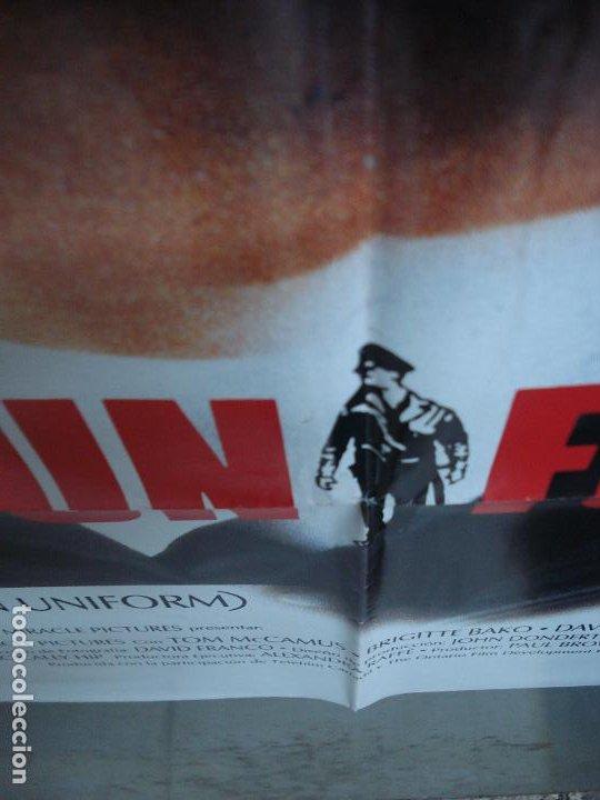 Cine: CDO 294 AMO LOS UNIFORMES DAVID WELLINGTON POSTER ORIGINAL 70X100 ESTRENO - Foto 5 - 194718846