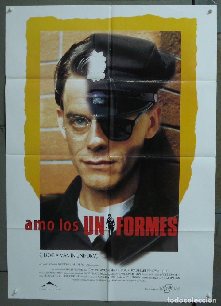 CDO 294 AMO LOS UNIFORMES DAVID WELLINGTON POSTER ORIGINAL 70X100 ESTRENO (Cine - Posters y Carteles - Aventura)