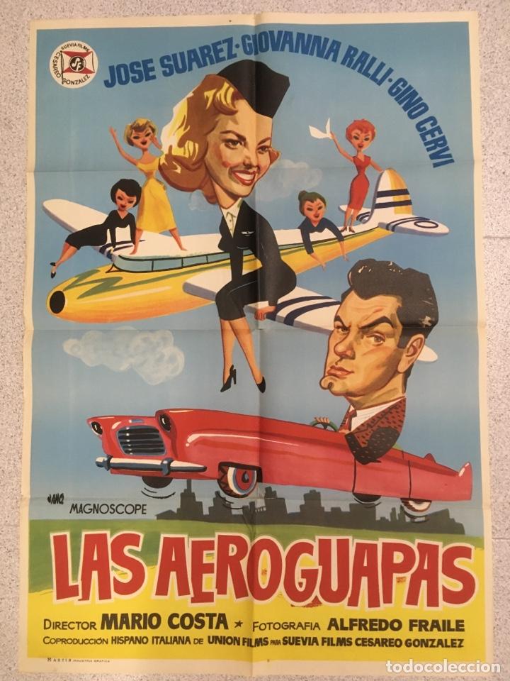 LAS AEROGUAPAS (Cine - Posters y Carteles - Comedia)