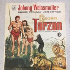Cine: EL TESORO DE TARZAN. Lote 194724062