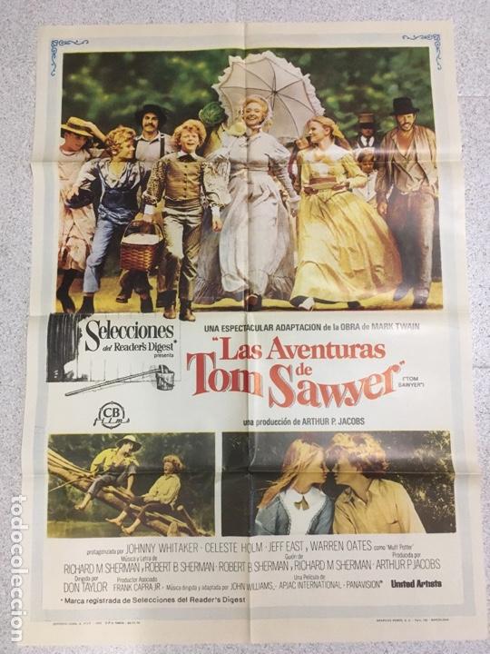 LAS AVENTURAS DE TOM SAWYER (Cine - Posters y Carteles - Comedia)