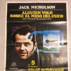 Cine: ALGUIEN VOLÓ SOBRE EL NIDO DEL CUCO. Lote 194727200