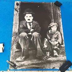 Cine: POSTER CHARLES CHAPLIN: EL NIÑO - AÑOS 80 - 100X70 CM APROX. Lote 194740005