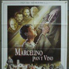 Cine: CDO 300 MARCELINO PAN Y VINO LUIGI COMENCINI LANDA FERNAN GOMEZ POSTER ORIGINAL 70X100 ESTRENO. Lote 194770495