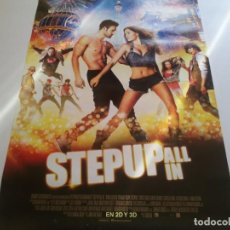 Cine: STEP UP ALL IN - POSTER ORIGINAL. Lote 194786966