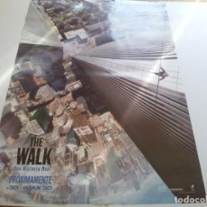 Cine: THE WALK UNA HISTORIA REAL - POSTER ORIGINAL. Lote 194787180