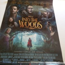 Cine: INTO THE WOODS - POSTER ORIGINAL. Lote 194794241