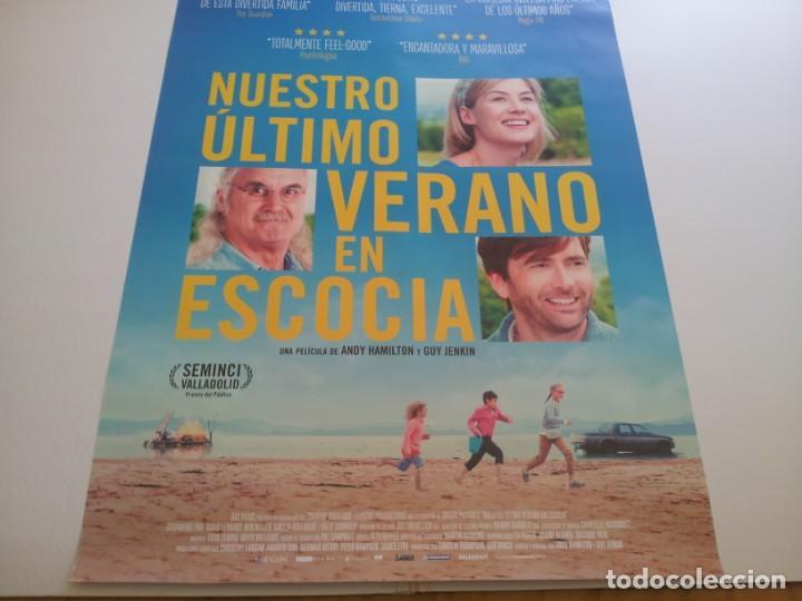 NUESTRO ULTIMO VERANO EN ESCOCIA - POSTER ORIGINAL (Cine - Posters y Carteles - Comedia)