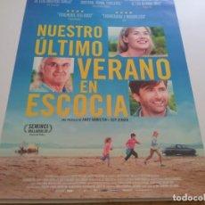 Cine: NUESTRO ULTIMO VERANO EN ESCOCIA - POSTER ORIGINAL . Lote 194860658