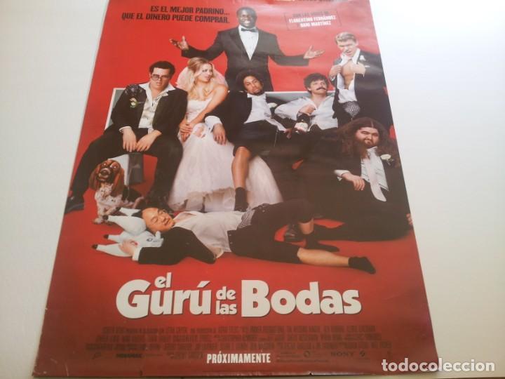 EL GURU DE LAS BODAS - POSTER ORIGINAL (Cine - Posters y Carteles - Comedia)