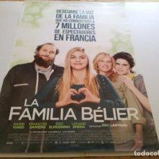 Cine: LA FAMILIA BELIER - POSTER ORIGINAL. Lote 194861018