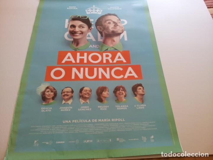 AHORA O NUNCA - POSTER ORIGINAL (Cine - Posters y Carteles - Comedia)