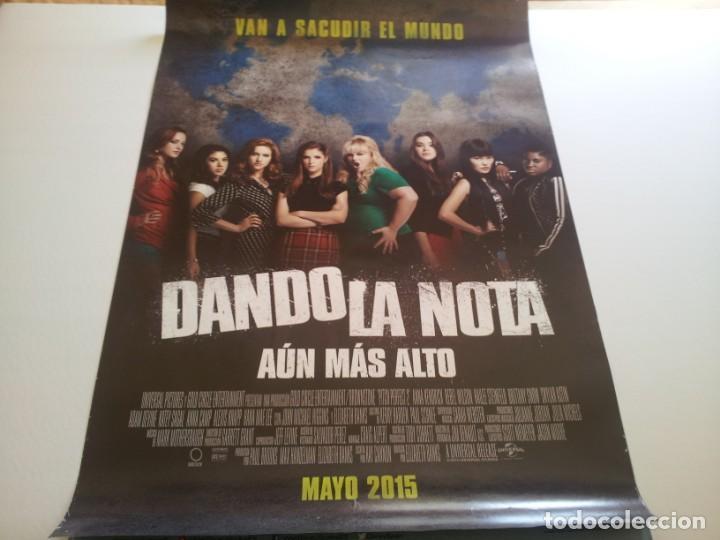DANDO LA NOTA AUN MAS ALTO - POSTER ORIGINAL (Cine - Posters y Carteles - Musicales)