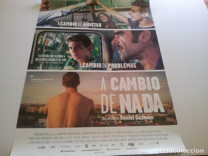 A CAMBIO DE NADA - POSTER ORIGINAL (Cine - Posters y Carteles - Clasico Español)