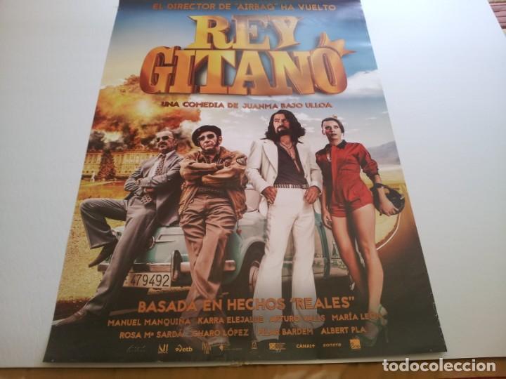 EL REY GITANO - POSTER ORIGINAL (Cine - Posters y Carteles - Clasico Español)