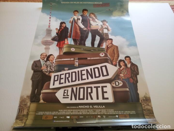 PERDIENDO EL NORTE - POSTER ORIGINAL (Cine - Posters y Carteles - Clasico Español)
